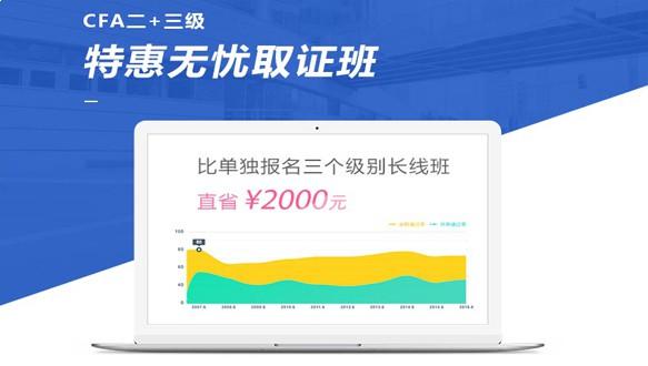 北京国际金融—CFA二+三级特惠取证套餐班(网课)
