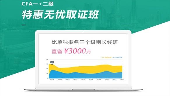 北京国际金融—CFA一+二级特惠取证班(网课)